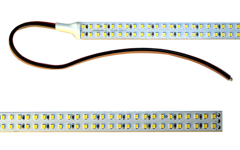 40 inch led strip light a fluorescent fixture conversion. Black Bedroom Furniture Sets. Home Design Ideas