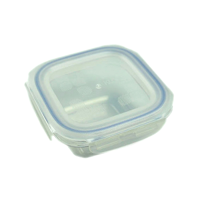 Komax Kloken Square Air Water Tight BPA Free Tritan Food Storage