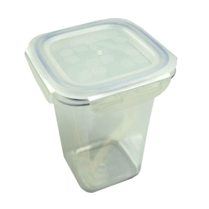 Komax Kloken Square Air Water Tight BPA Free Tritan Food Storage