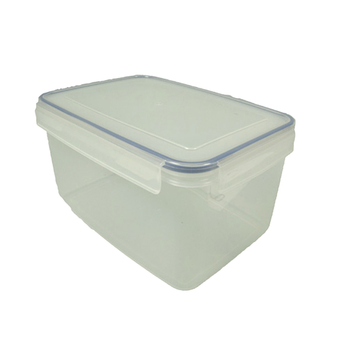 Komax Biokips Rectangular Air U0026 Water Tight Food Storage Container 4.6  Liter (155.6 Fl.oz.)
